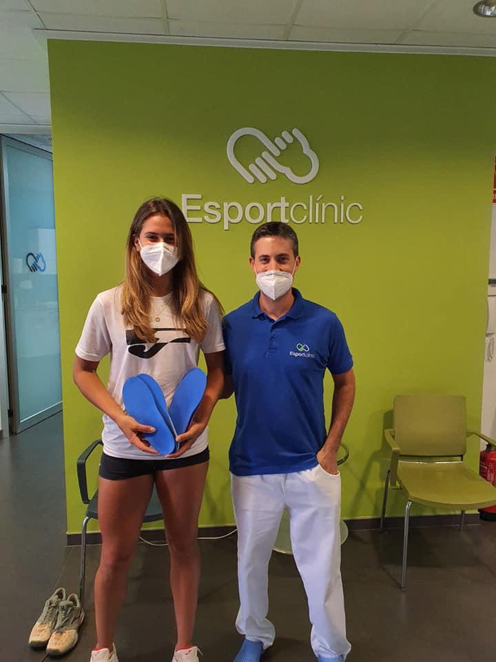 Eva Guerrero Tenista cliente de Esportclínic