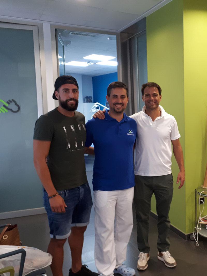 Futbolistas Pallardó y Farinós ex Levante UD