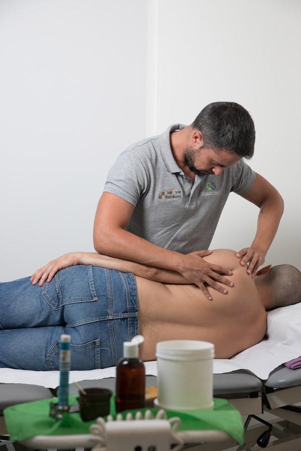 fisioterapeuta en Alcudia Esportclínic