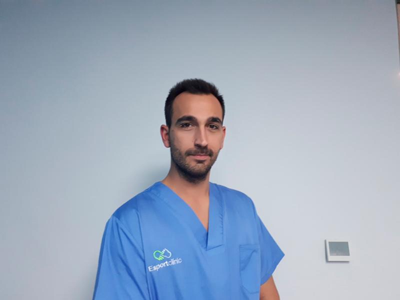 Carlos Corberan, podologo en Esportclínic