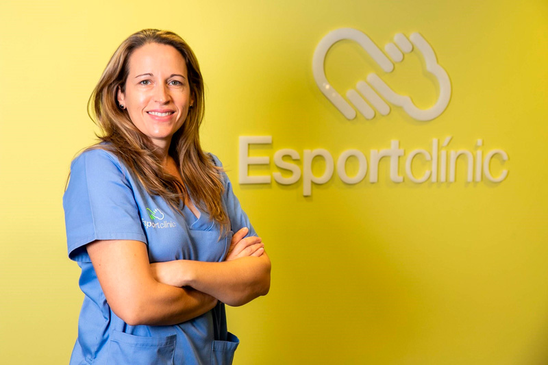 Noelia Chaqués, podóloga en Esportclínic